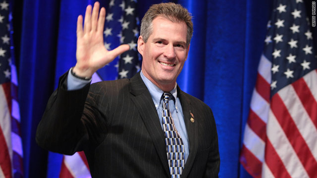 Massachusetts Sen. Scott Brown has gone from a little-known state senator to a key voice in the U.S. Senate.