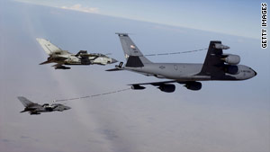 The Air Force wants to replace its fleet of KC-135 tankers, which act as flying gas stations for warplanes.