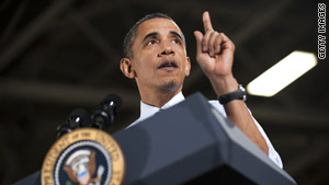 President Obama has praised the recovery of the U.S. auto industry.