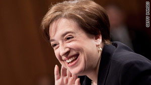 Elena Kagan will be the fourth woman ever to sit on the U.S. Supreme Court.