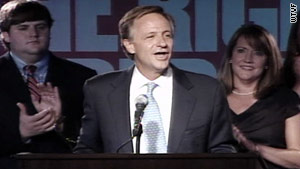 Knoxville Mayor Bill Haslam claims victory in Tennessee's GOP primary for governor on Thursday night.