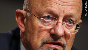 James Clapper will be the fourth Director of National  Intelligence in five years.