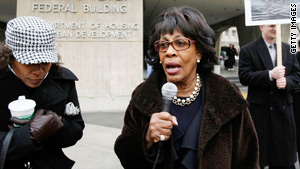 Rep. Maxine Waters is pushing the ethics panel to set a trial date before the midterm elections in November.