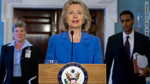"Secretary of State Hillary Clinton said the  new treaty will ""provide predictability and stability"" with Russia."