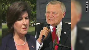 Karen Handel ran against ex-Rep. Nathan Deal in a close Republican primary in Georgia.