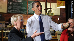 Sen. Patty Murray, D-Washington, received a campaign visit from President Obama on Tuesday.