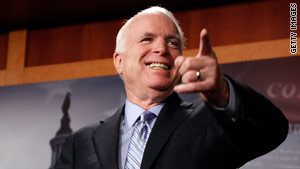 Sen. John McCain is facing a tough Republican primary challenger -- former Rep. J.D. Hayworth.