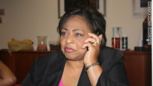 Shirley Sherrod was forced to resign from her Agriculture Department job last month.