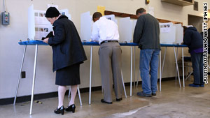 Voters go to the polls Tuesday in Florida, Alaska, Oklahoma, Vermont and Arizona.
