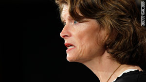 Republican Sen. Lisa Murkowski was first appointed to her post by her father in 2002.