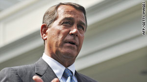 House Minority Leader John Boehner's Tuesday speech is the second time he's directly taken on the president in two weeks.