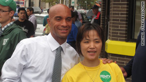 Mayor Adrian Fenty's re-election fight could carry significant implications for the national debate over education reform.