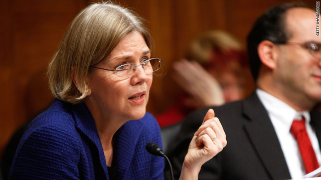 Elizabeth Warren would report directly to President Obama and Treasury Secretary Tim Geithner, sources tell CNN.