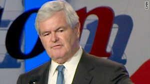 Newt Gingrich has repeatedly acknowledged he is testing the waters in advance of a potential bid for president.