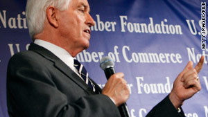 Sources say Tom Donohue, the U.S. Chamber of Commerce president, says the election will be anti-establishment.
