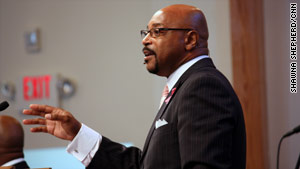 Virginia pastor Melvin Marriner says people in his largely African-American flock don't seem excited about voting now.
