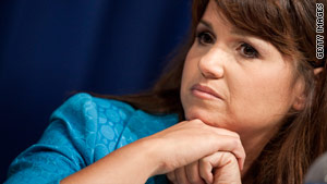 """Christine O'Donnell is a conservative camopaigner who has admitted once """"dabbling in witchcraft."""""""