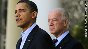 President Obama and Vice President Joe Biden hope to re-ignite the enthusiasm of first-time voters.