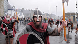 The Vikings did not meet many foes willing to stand and fight, but when they did they had an answer.