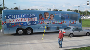 The Children's Movement of Florida took a 3,876- mile trip through the state in September.