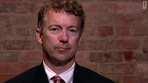 """I think this election really is about the president's agenda,"" GOP candidate Rand Paul says."