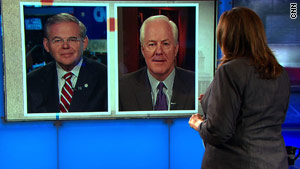Debate over the upcoming midterm elections dominated the talk shows on Sunday.