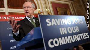 Senate Majority Leader Harry Reid is returning to his home state of Nevada on Tuesday to campaign.