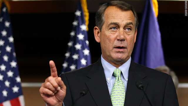 "A Boehner aide says the Republican leader's speech will ""focus on the issue of jobs, and how the November election will be a referendum on President Obama and Washington Democrats' job-killing record."""