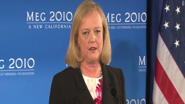 The campaign for California gubernatorial candidate Meg Whitman wants an apology from her opponent, Jerry Brown, after his aide called the former eBay CEO a &quot;whore&quot;