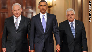 Some worry President Obama is losing Israeli Prime Minister Ben Netanyahu and Palestinian President Mahmoud Abbas.