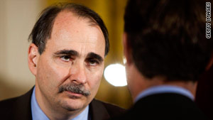 White House senior advisor David Axelrod said Sunday that he hoped GOP gains would translate to greater cooperation.