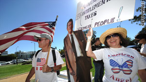 According to a poll, 74 percent of Tea Party supporters are very enthusiastic about voting in upcoming midterm elections.