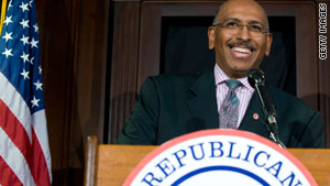 Republican National Committee Chairman Michael Steele says a GOP wave could hand Republicans control of the House and Senate.