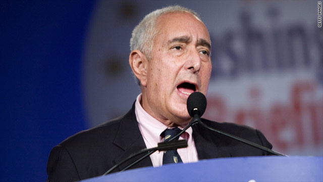 Actor Ben Stein, above, is not a fan of Republican Joe Miller, who is hoping to become an Alaska senator.