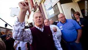 Even if you don't live in Ohio, you might want to pay attention to Gov. Ted Strickland's race.