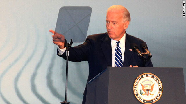 Vice President Biden spoke at the Jewish Federations of North America annual gathering in New Orleans, Louisiana on Sunday.
