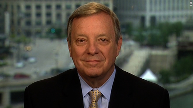 Sen. Dick Durbin, D-Illinois, can add actor to his resume.