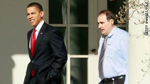 David Axelrod's comments on President Obama's position on the Bush tax cuts sent shock waves as far as Asia.