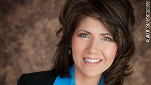Kristi Noem is the Republican congresswoman-elect from South Dakota.