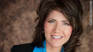 Kristi Noem is the Republican congresswoman-elect from South Dakota.
