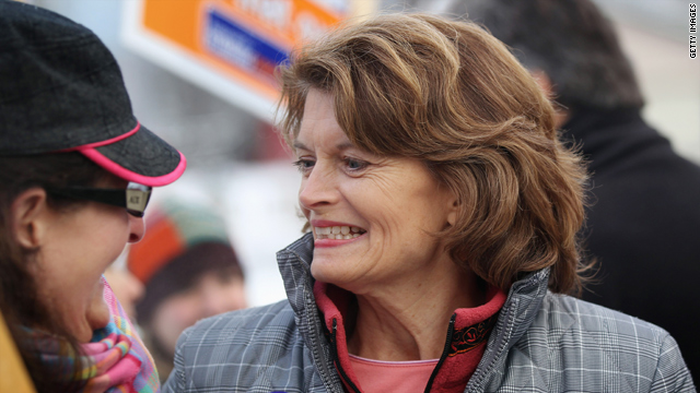 Sen. Lisa Murkowski, R-Alaska, hasn't always seen eye to eye with former Alaska Gov. Sarah Palin.