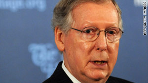 Sen. Mitch McConnell, a longtime defender of earmarks, says he intends to vote for the ban.