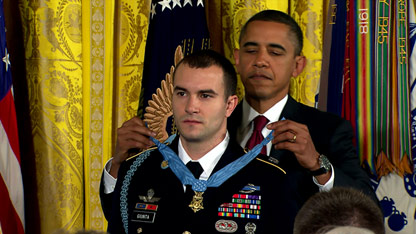 Medal of Honor awarded
