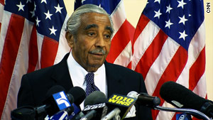 Rep. Charlie Rangel, D-New York, rose from a broken home to a powerful post in the U.S. House.
