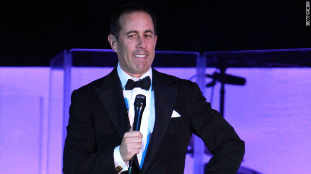 Comedian Jerry Seinfeld said he's clueless as to why he was asked to perform at the White House.