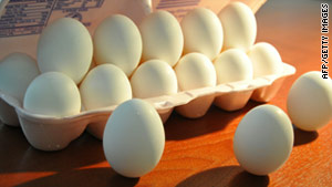 More than 500 million eggs were recalled because of a salmonella outbreak last summer.