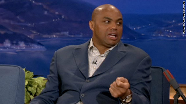 Former NBA star Charles Barkley dissed President Obama's basketball game in an interview with Conan O'Brien.