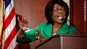 """It appears that we now know the real reason for the delay,"" Rep. Maxine Waters said. ""Something has gone wrong in the ethics process."""
