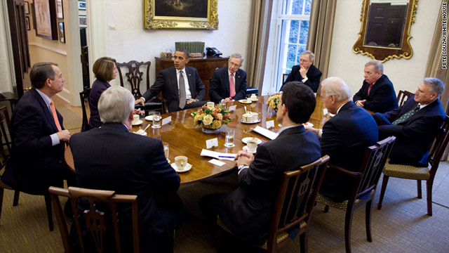 President Obama this week met with congressional leaders from both parties, and they pledged to work together.