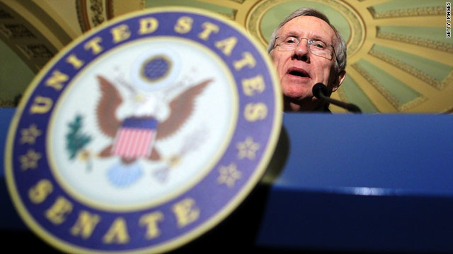 Senate Majority Leader Harry Reid has encountered strenuous opposition from Republicans.